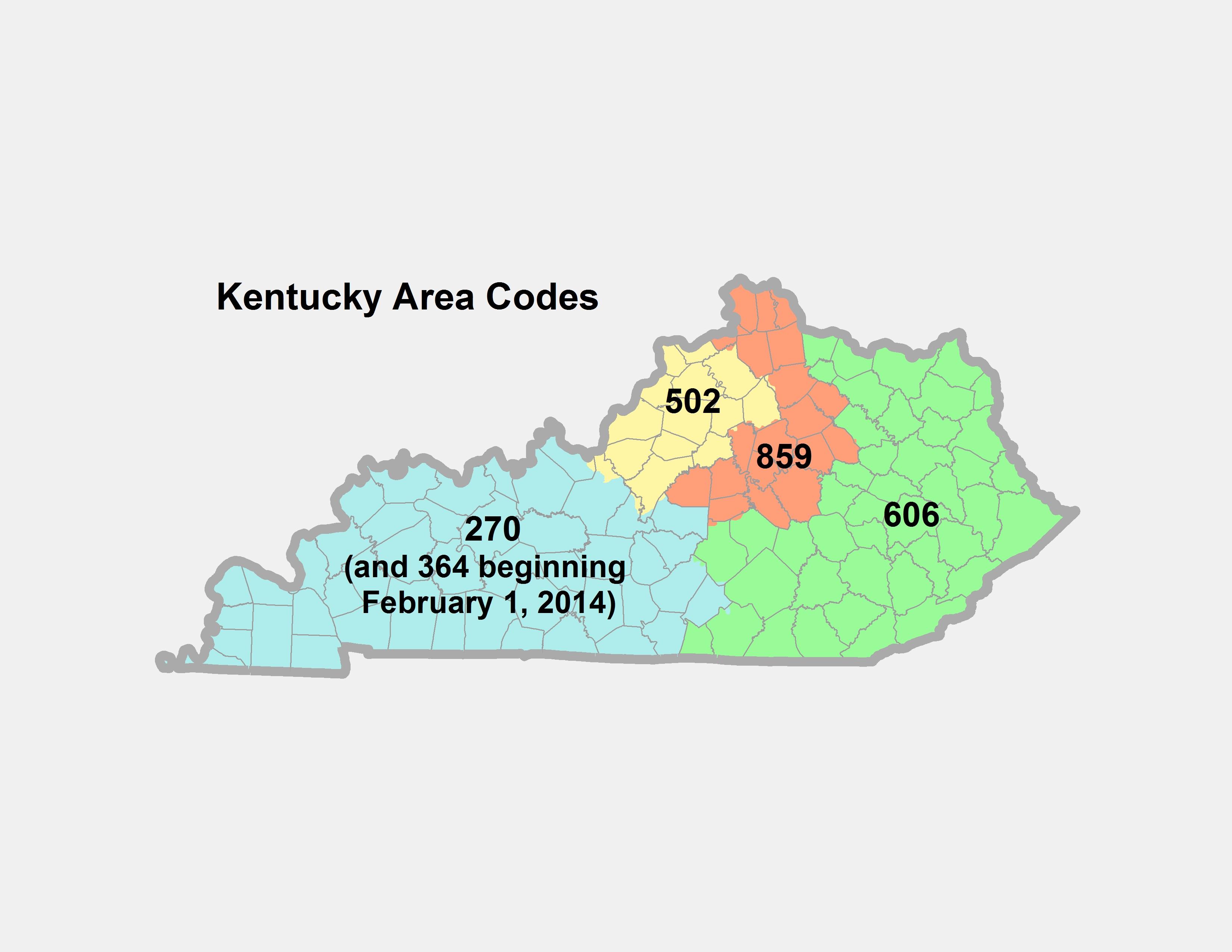 KY Public Service Commission - 859 area code